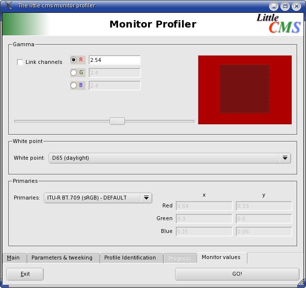 monitor profiler onglet 5