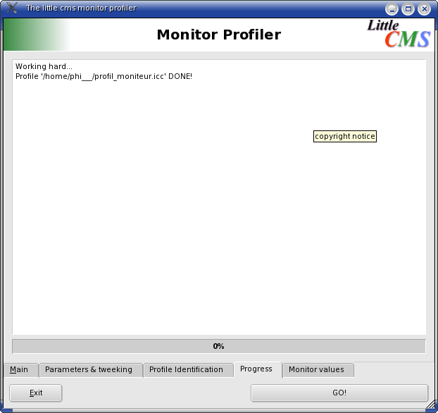 monitor profiler onglet 4