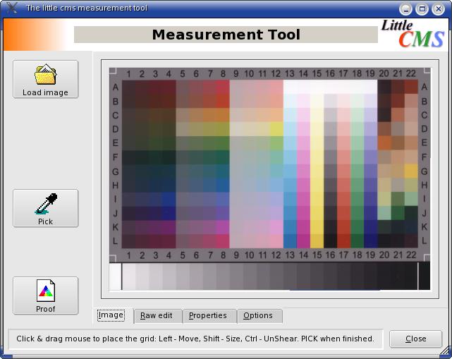 Measurement Tool charte