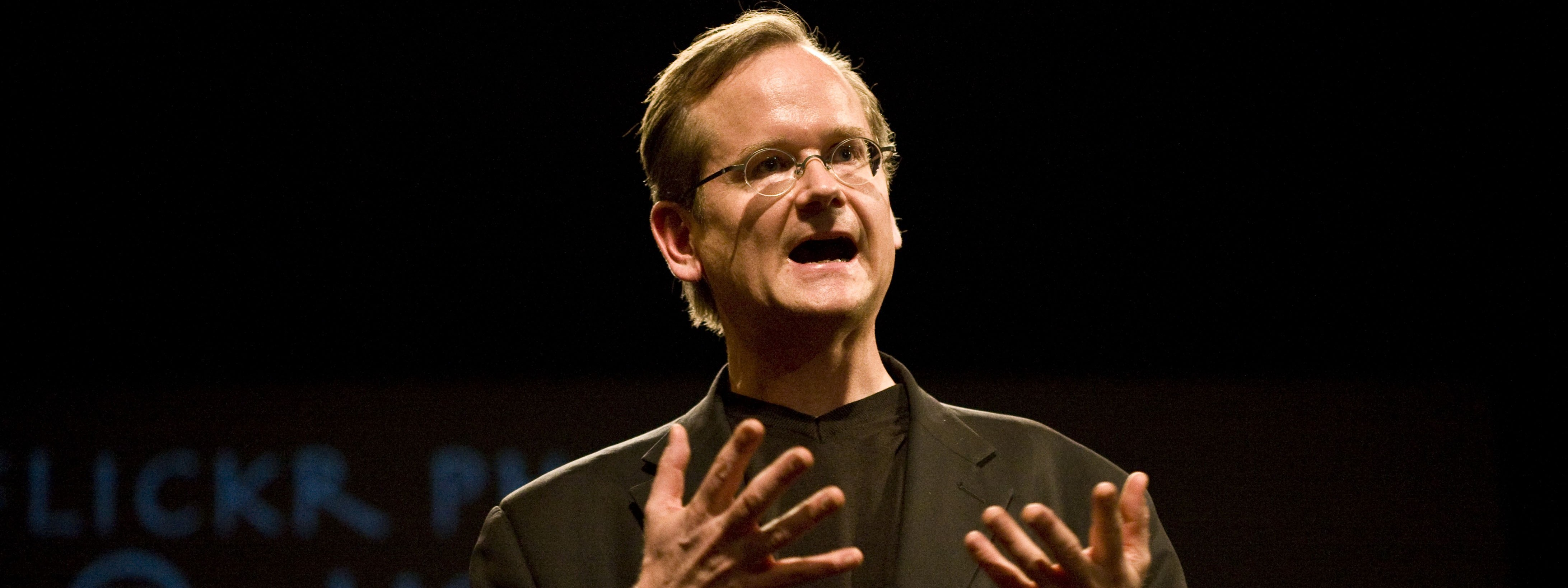 Cyberlaw, conférence de Lawrence Lessig le 6 avril