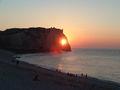 Coucher de soleil dans les falaises d'Etretat 430.jpg