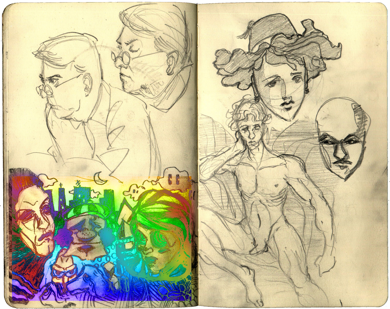 Some Sketchs 2015