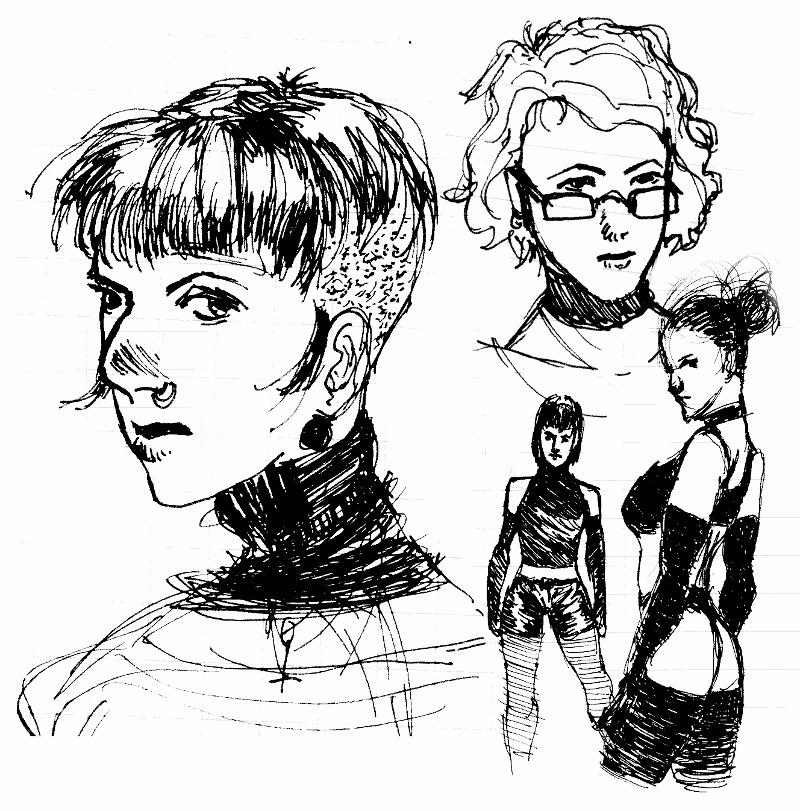Random Sketchs