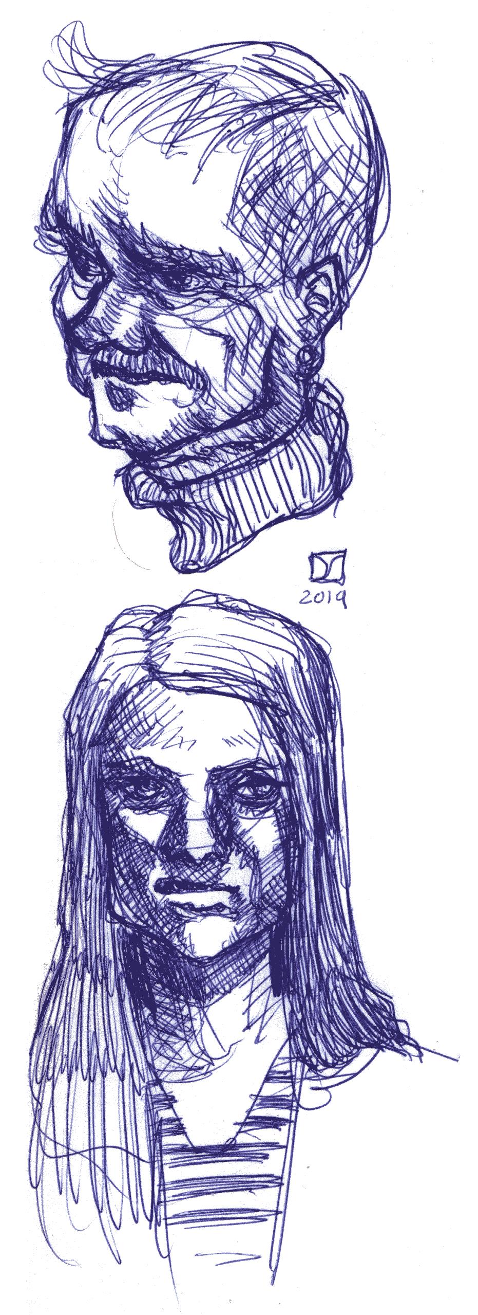 LEM bic doodles