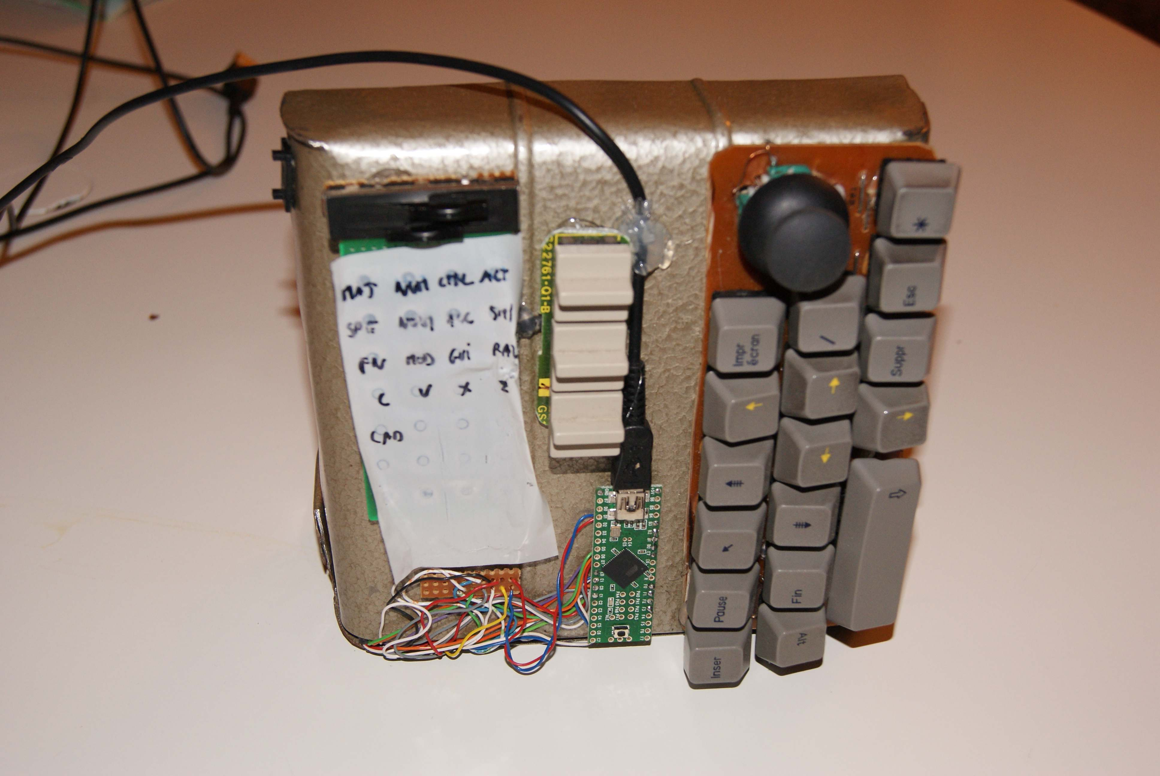 An other DIY keyboard project - deskthority