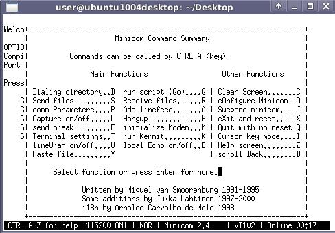 File:Minicom configure.png