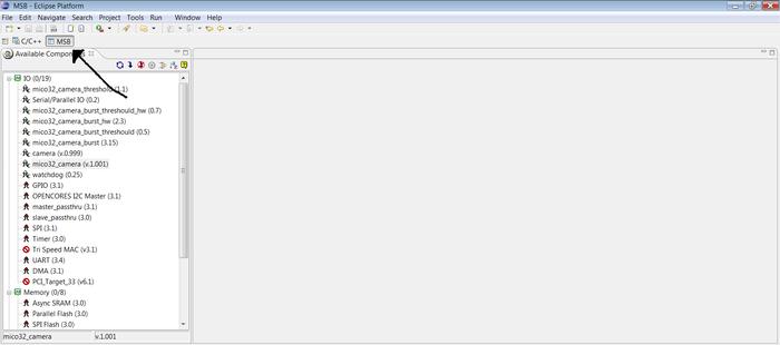 Tutorial: Building a Mico32 platform for FPG-EYE - ErikaWiki