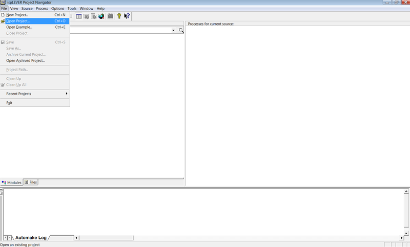 File:Open project from ispLever ide.png