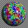 disco ball avec gimp