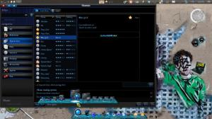 Blue GLX Dock