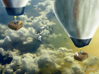 The Sky Tightrope Walker