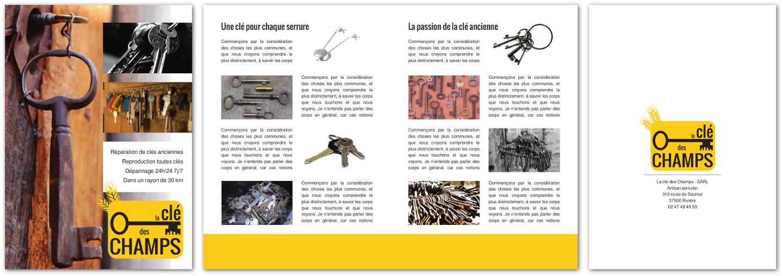 Cr Er Une Plaquette 4 Pages Avec Scribus LinuxgraphicLinuxgraphic