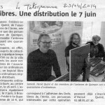 Article Of redistribution Braspart 7 juin 2014
