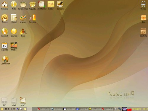 Bureau Toutou-Linux