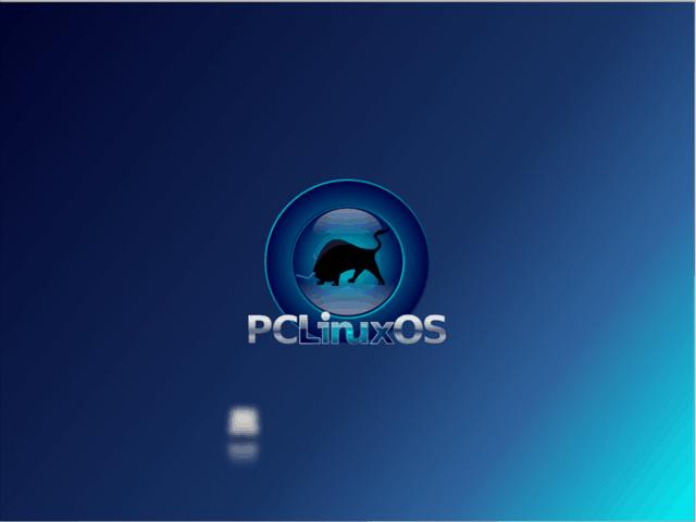Démarrage du bureau PCLinuxOS
