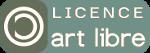 logo de la licence artlibre