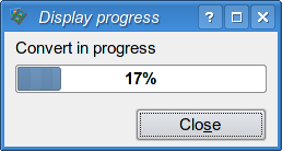 Progression window