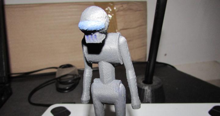 muñeco impreso