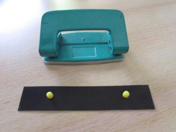 Perforadora con registro hogareño