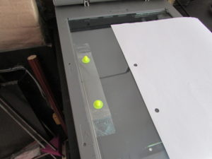 Escaner con registro hogareño