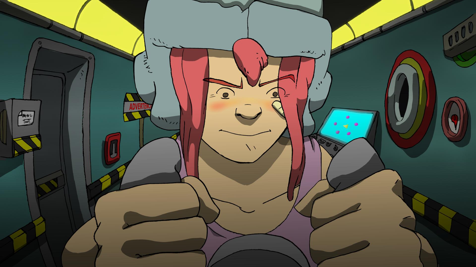 La Capi, capitana interestelar es una serie de ciencia ficción de animación