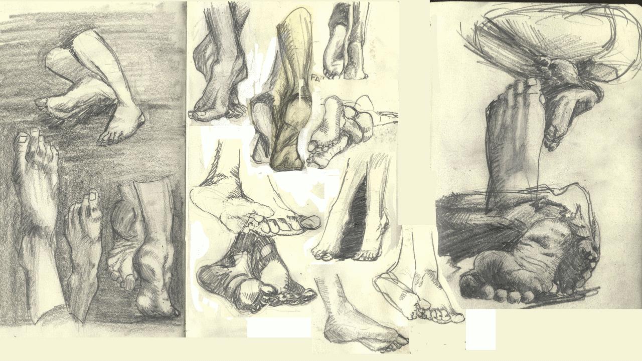 Feet Studie