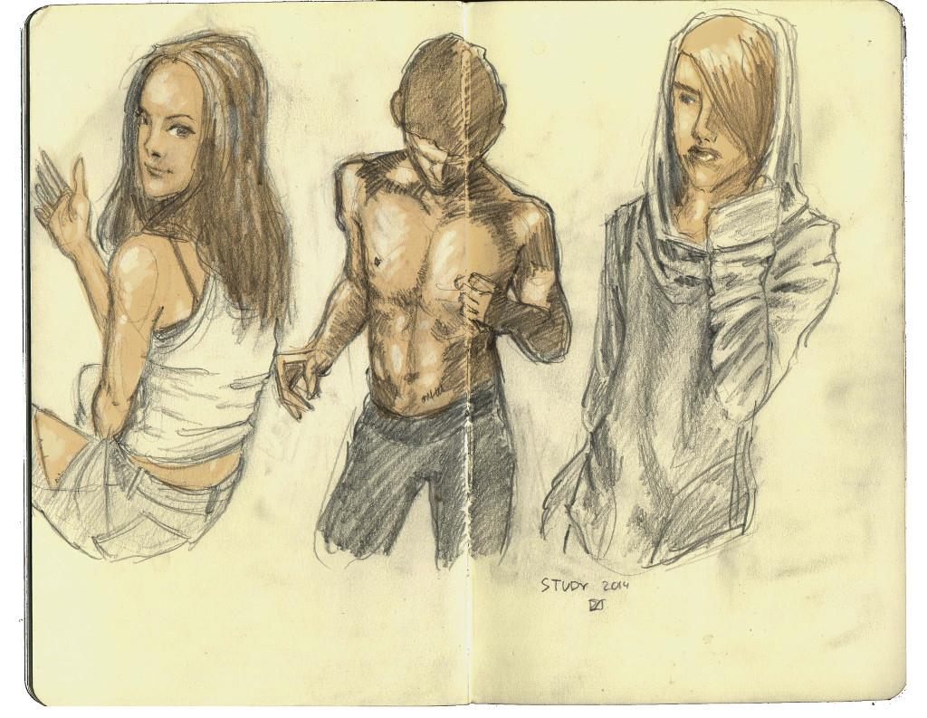 some sketchs 2014