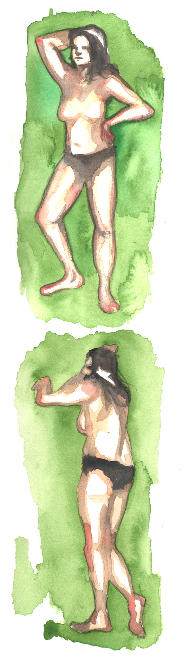 Watercolor practice