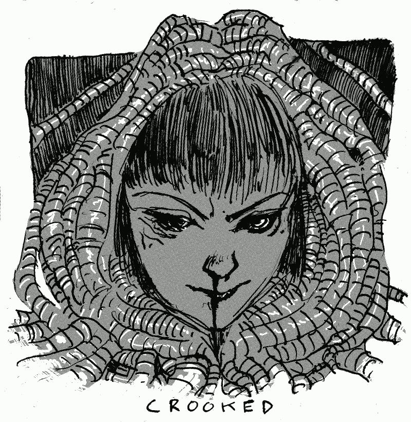 Inktober Crooked
