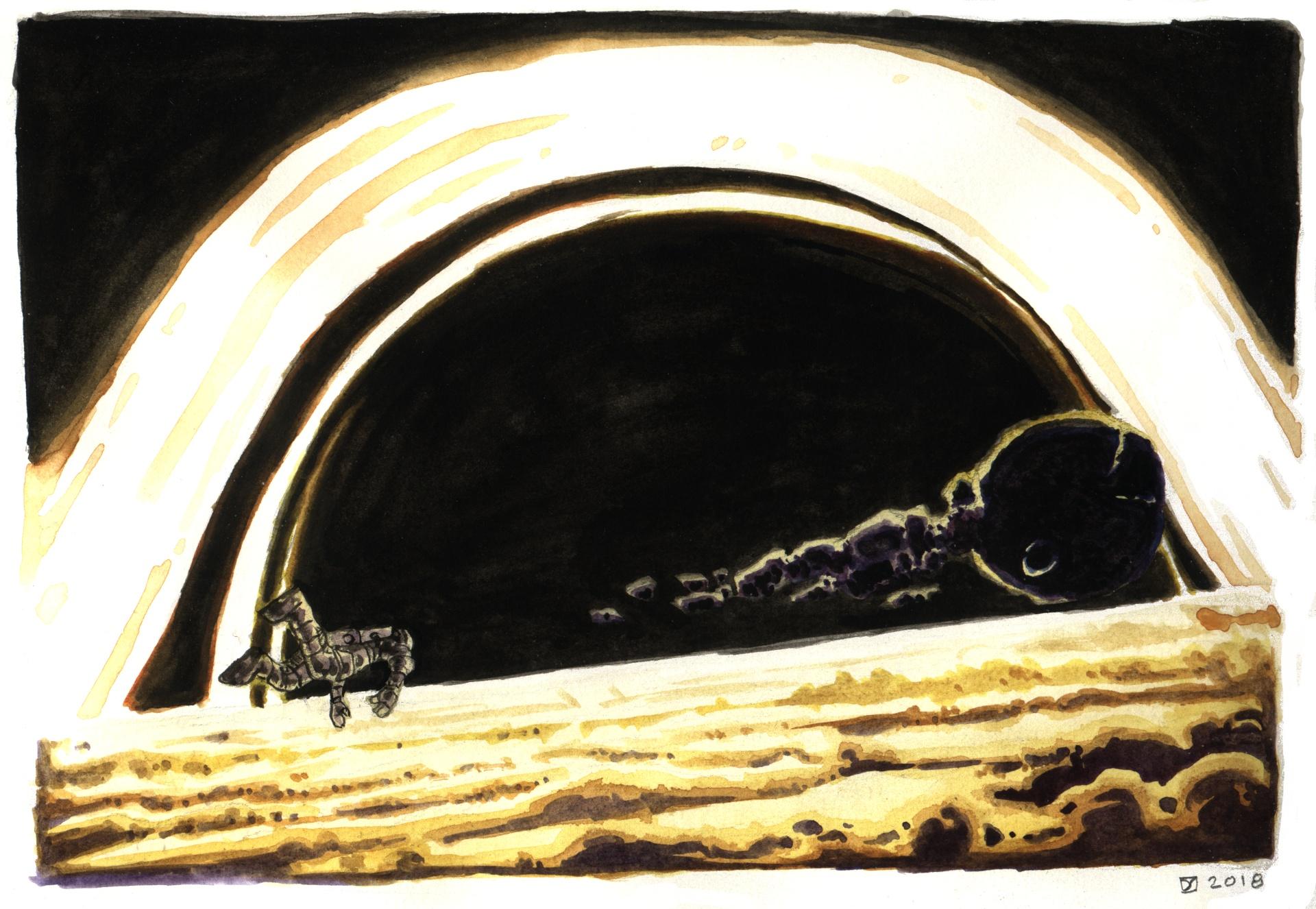 Lovely Blackhole   LT 26th anniversary gift