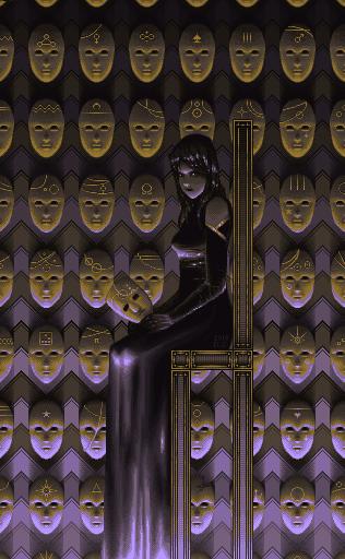 La Reine des Masques