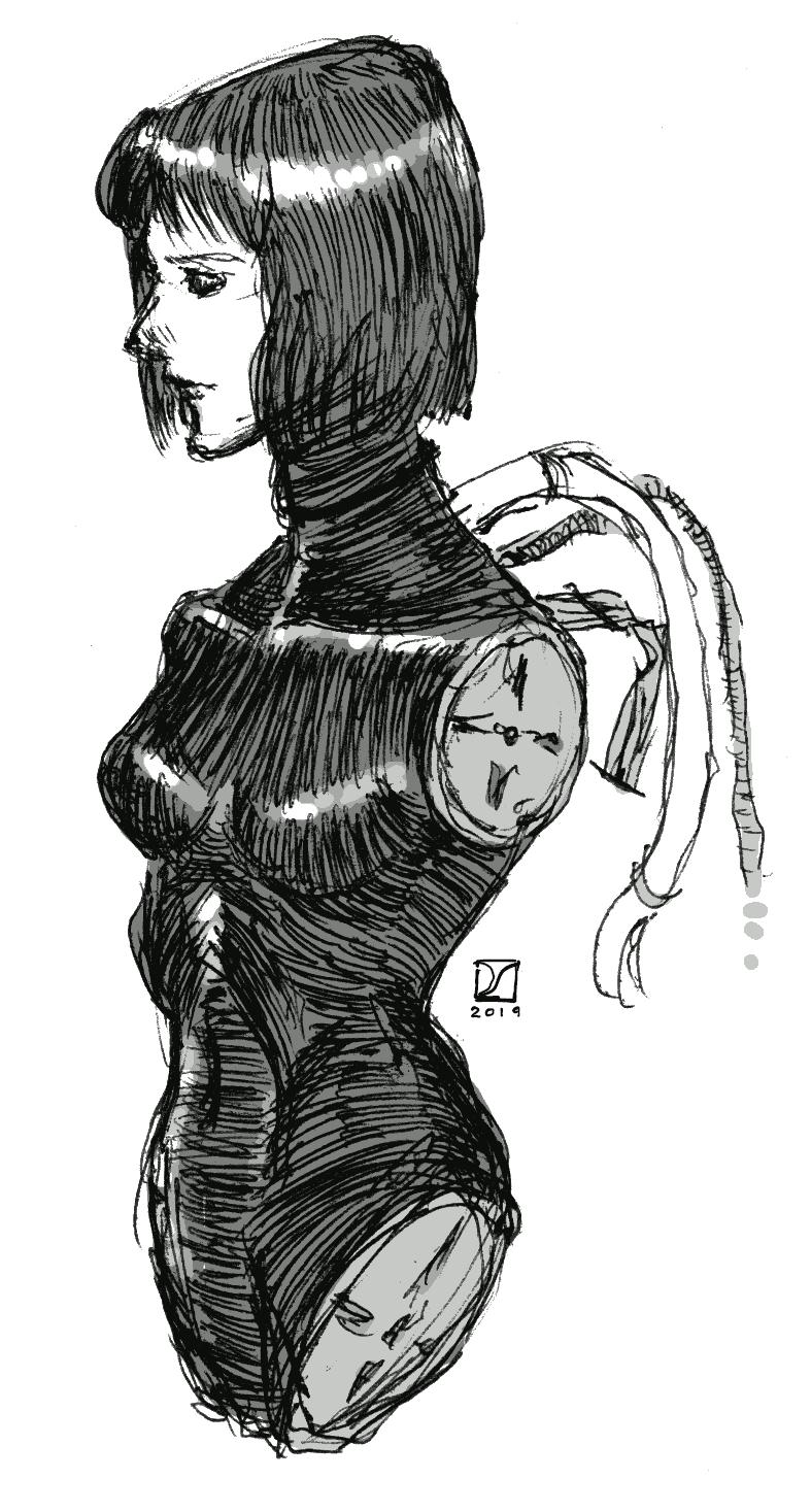 Gynoïde Doodle 1