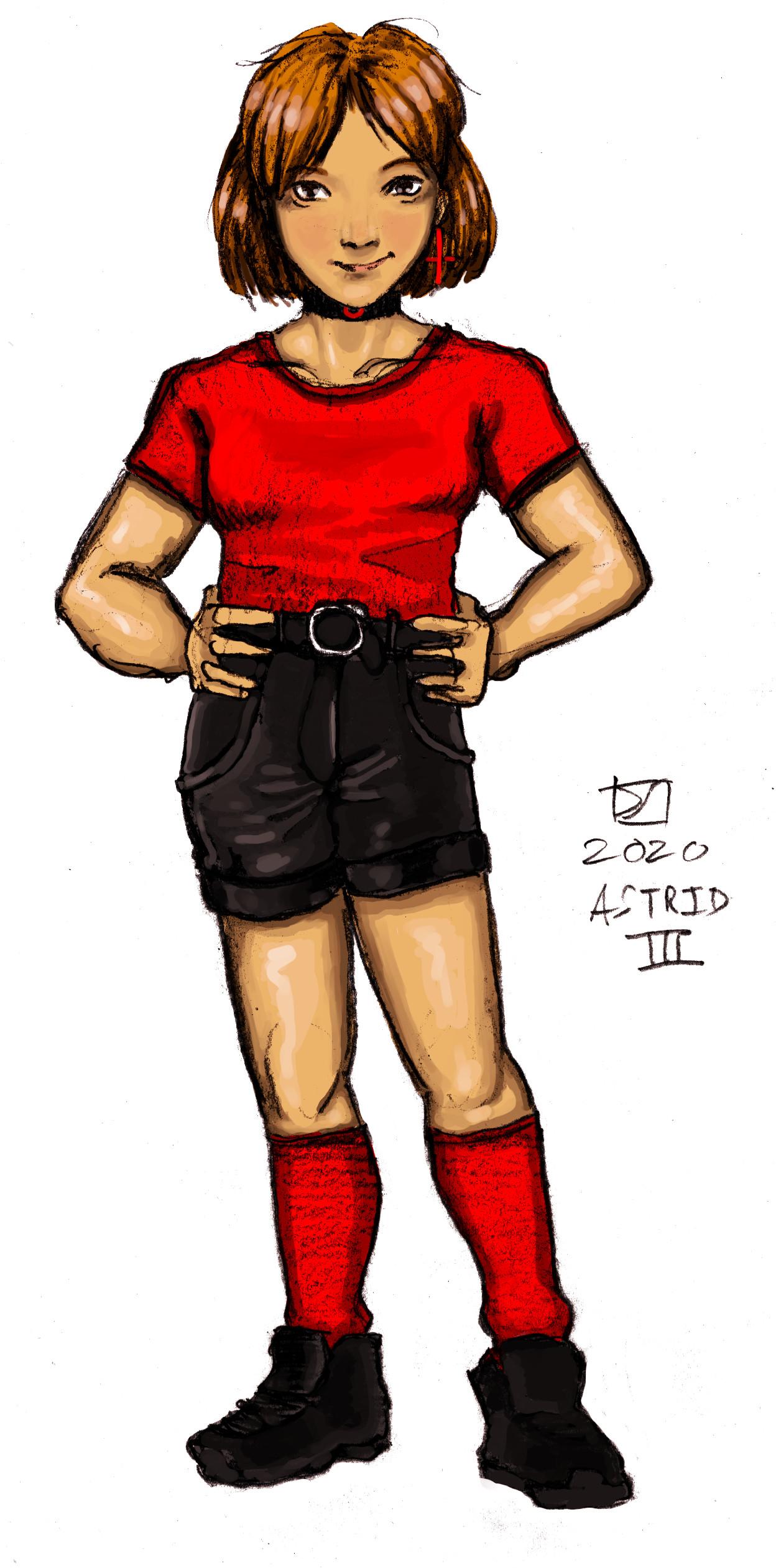 L'ECHANGELIN - Astrid III