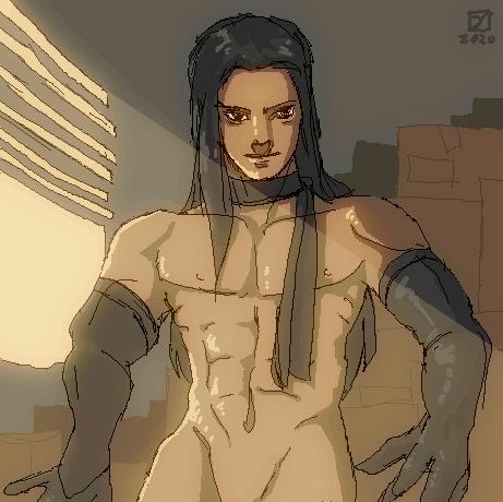 Handsome man | Doodle 0x04
