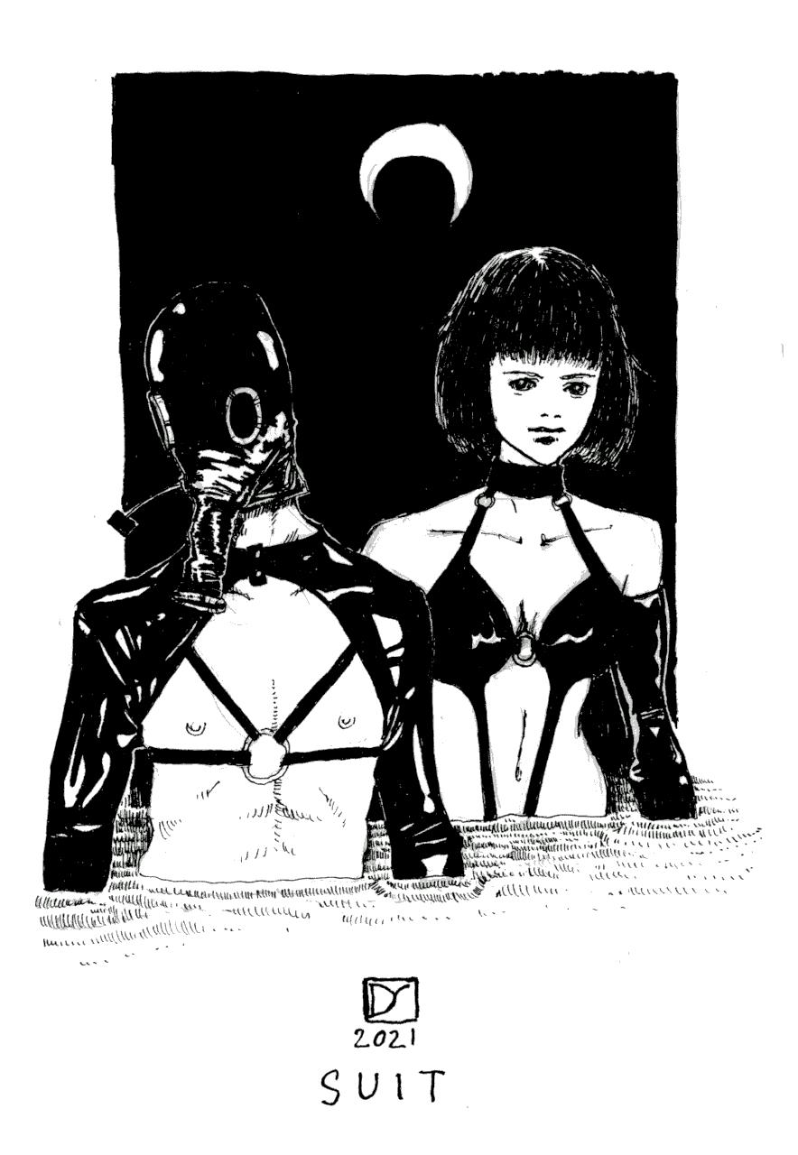 Inktober 2021 | Suit