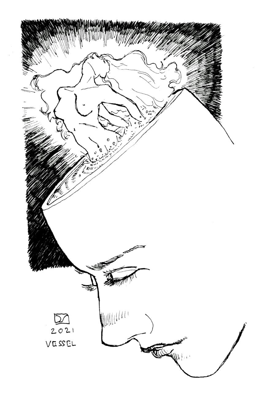 Inktober | Vessel
