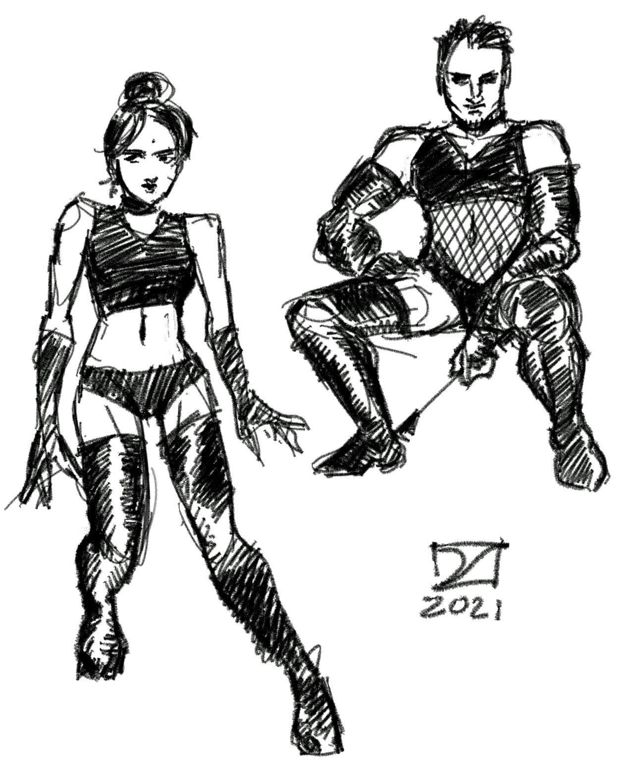 Shitty BDSM Sketches