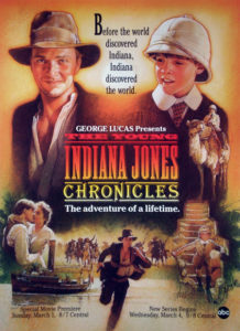 "Affiche ""The Young Indiana Jones Chronicles"""