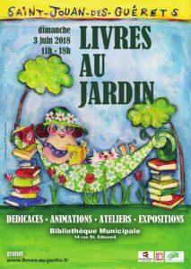Livres au jardin @ Bibliothèque de Saint-Jouan