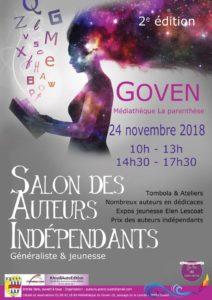 2e salon des auteurs indépendants de Goven @ Médiathèque de Goven