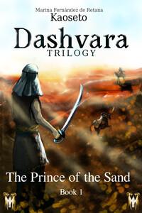The Prince of the Sand, Dashvara Trilogy Cover