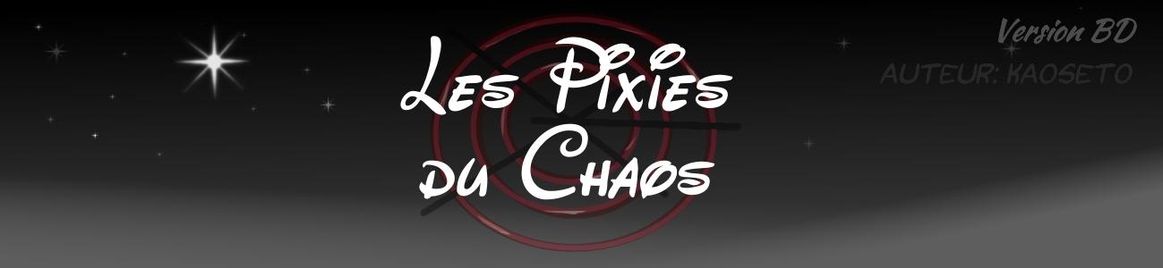 BD Pixies du Chaos, Cover
