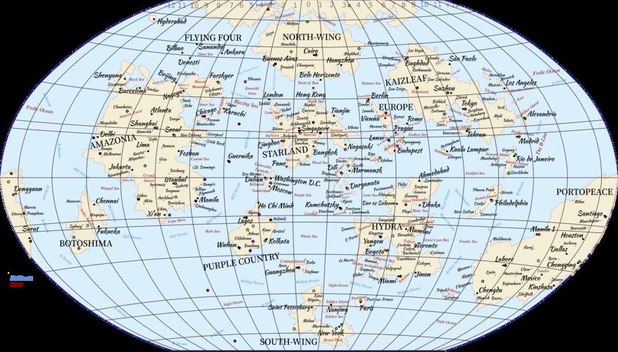 Farskyer World Map