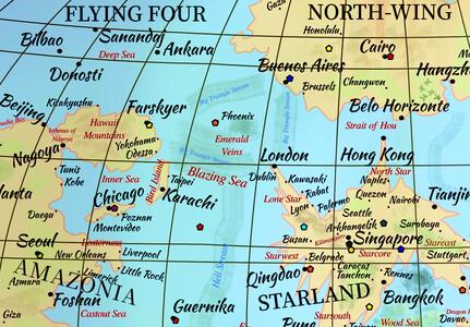 Lands around the Blazing Sea