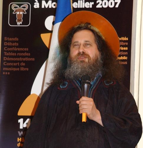 Portrait de Stallman, 2007