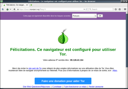 Tor Browser IP
