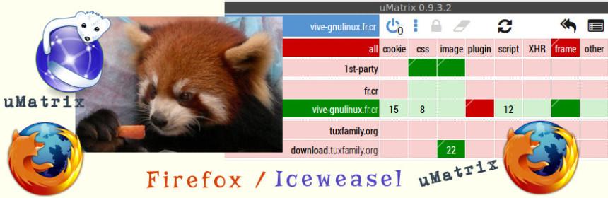 Firefox - uMatrix