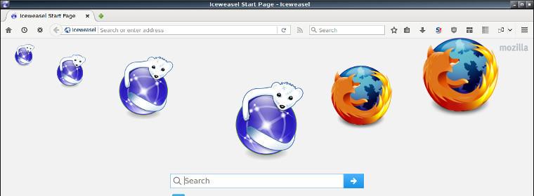 Iceweasel en Firefox