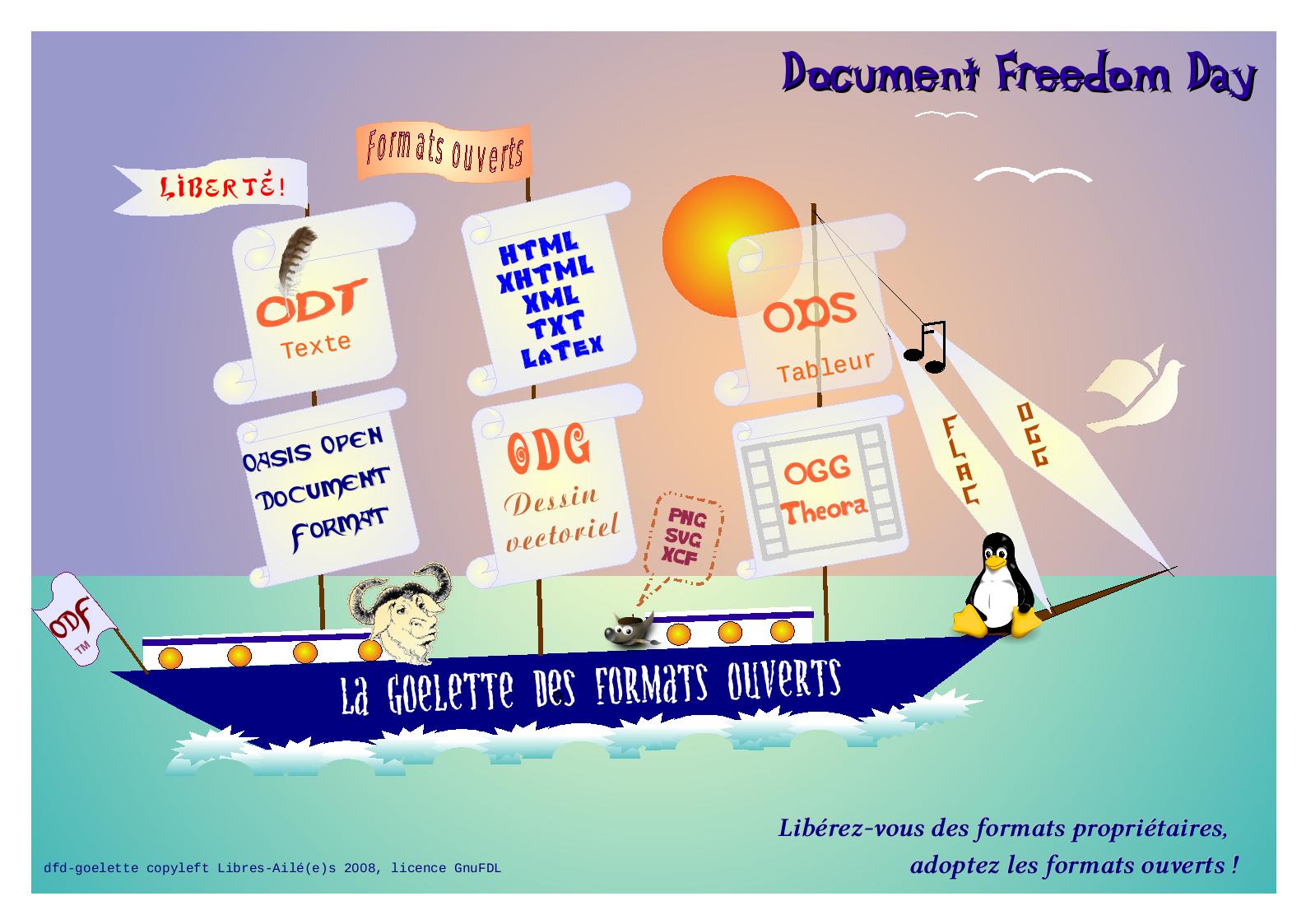 La Goëlette des formats ouverts