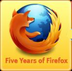 Fêtons les 5 ans de Firefox